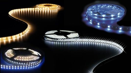 Tiras flexibles de led